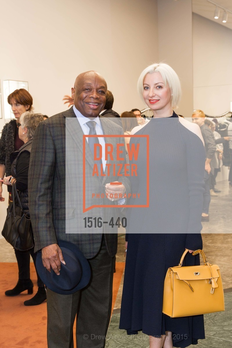 Willie Brown, Sonya Molodetskaya, W Magazine and BAMPFA Celebrate the Opening of the Marni San Francisco Boutique with co-hosts Sabrina Buell and Alison Pincus, Marni San Francisco. 77 Maiden Lane, November 4th, 2015,Drew Altizer, Drew Altizer Photography, full-service agency, private events, San Francisco photographer, photographer california