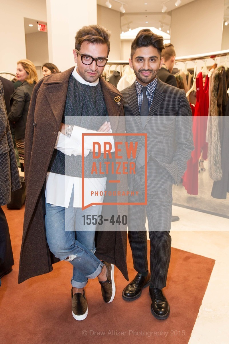 David Mohammadi, Tomy Cornejo, W Magazine and BAMPFA Celebrate the Opening of the Marni San Francisco Boutique with co-hosts Sabrina Buell and Alison Pincus, Marni San Francisco. 77 Maiden Lane, November 4th, 2015,Drew Altizer, Drew Altizer Photography, full-service agency, private events, San Francisco photographer, photographer california