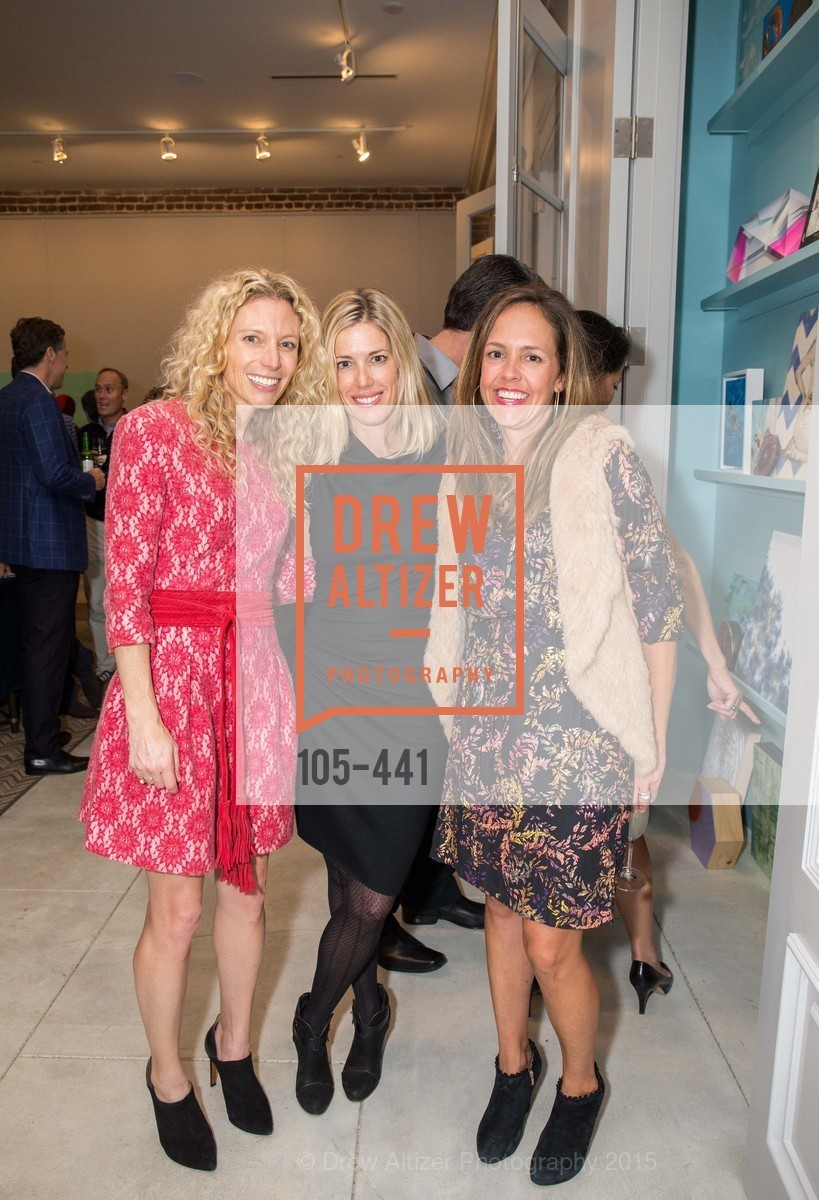 Molly Simon, Carrie Emison, Amy Lowery, Stephanie Breitbard Fine Arts San Francisco Opening, Stephanie Breitbard Fine Arts. 843 Montgomery St, November 5th, 2015,Drew Altizer, Drew Altizer Photography, full-service agency, private events, San Francisco photographer, photographer california