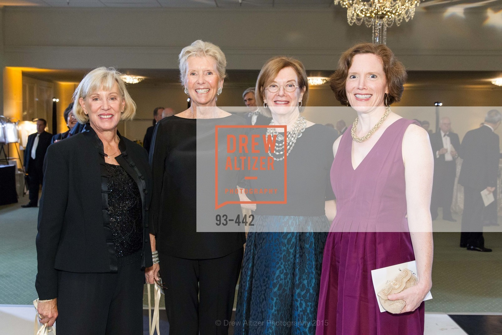 Barbara Backer, Susie Gilmartin, Lynn Thompson, Laurel Paul, Metropolitan Club Presents THE CENTENNIAL GALA, Metropolitan Club. 640 Sutter Street, November 5th, 2015,Drew Altizer, Drew Altizer Photography, full-service agency, private events, San Francisco photographer, photographer california