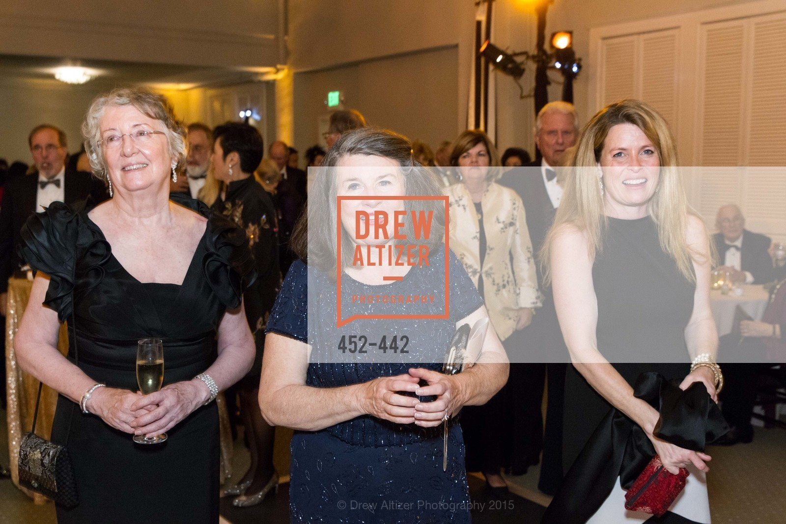 Marcia MacArthur, Peggy Mitchell, Katherine Ladd, Metropolitan Club Presents THE CENTENNIAL GALA, Metropolitan Club. 640 Sutter Street, November 5th, 2015,Drew Altizer, Drew Altizer Photography, full-service agency, private events, San Francisco photographer, photographer california