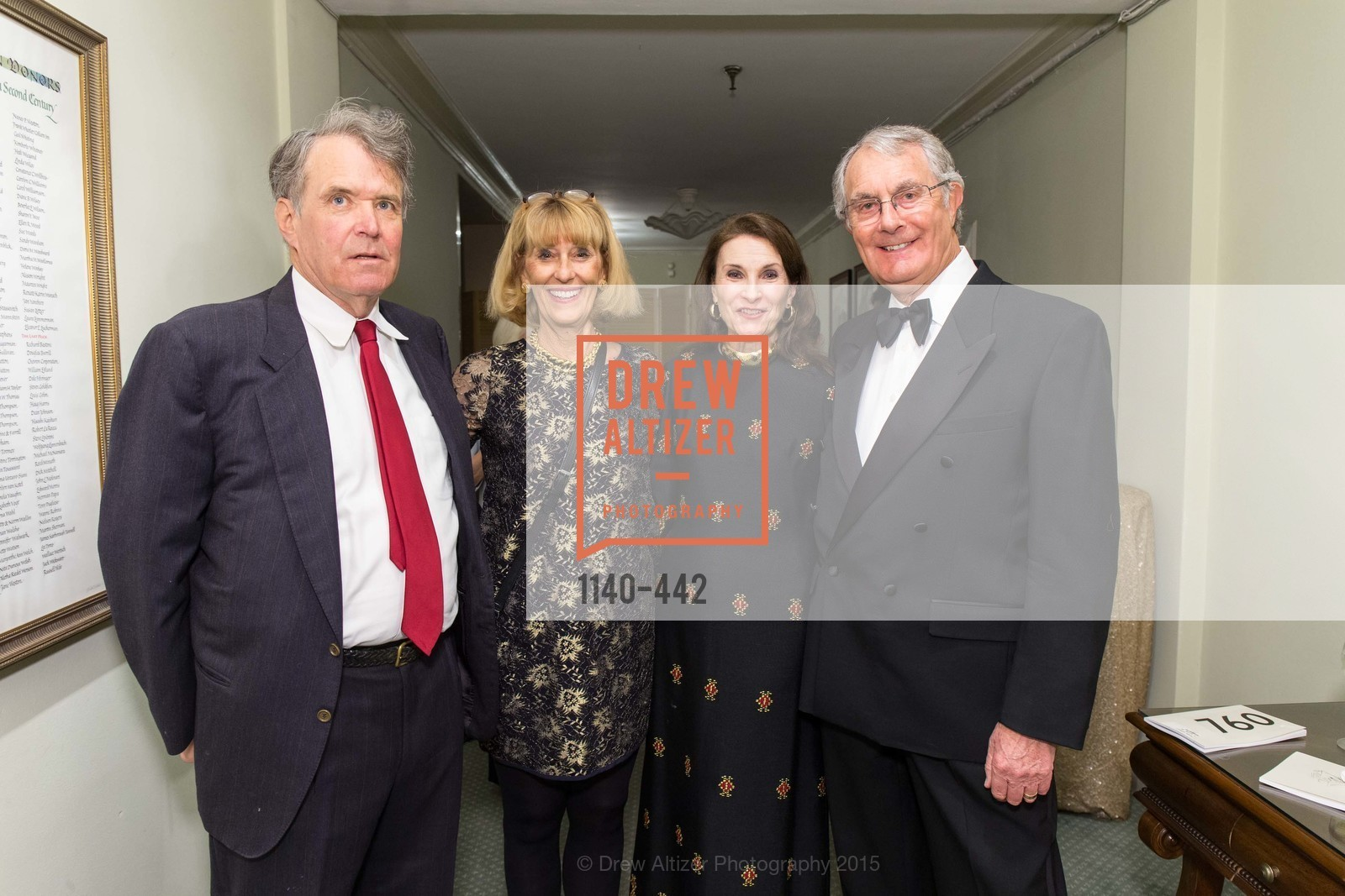 Ron Ward, Diana Ward, LaVerne Silverman, Alan Silverman, Metropolitan Club Presents THE CENTENNIAL GALA, Metropolitan Club. 640 Sutter Street, November 5th, 2015,Drew Altizer, Drew Altizer Photography, full-service agency, private events, San Francisco photographer, photographer california