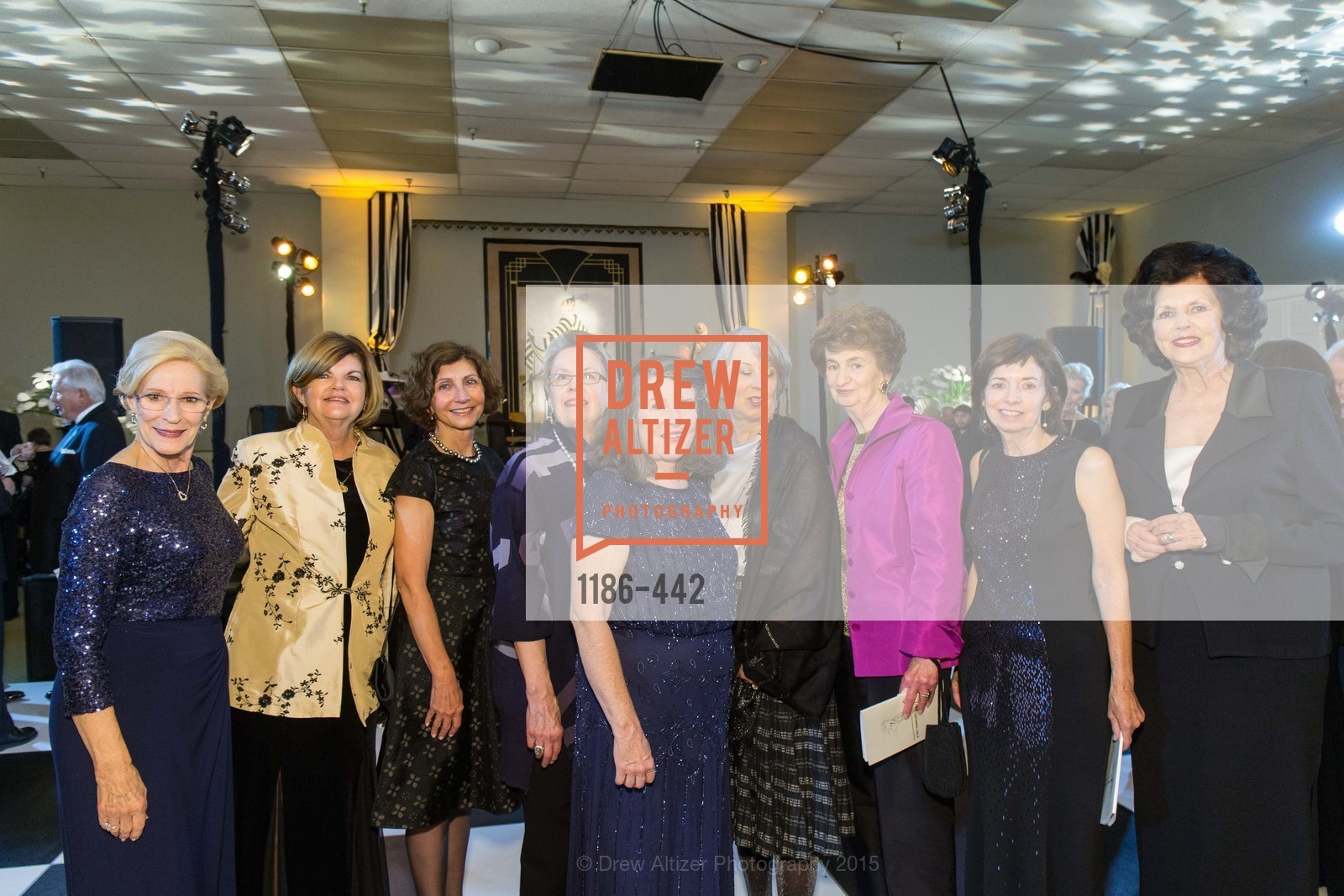 Misty Tyree, Carol Ann Rogers, Karen Rose, Molly Brant, Peggy Mitchell, Barbara Kimport, Margaret Handelman, Maria Hilakos Hanke, Helene Ettelson, Metropolitan Club Presents THE CENTENNIAL GALA, Metropolitan Club. 640 Sutter Street, November 5th, 2015