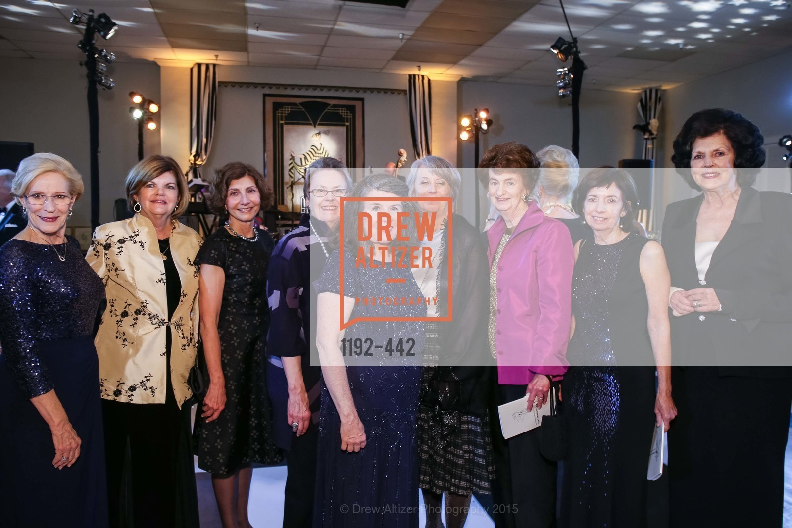 Misty Tyree, Carol Ann Rogers, Karen Rose, Molly Brant, Peggy Mitchell, Barbara Kimport, Margaret Handelman, Maria Hilakos Hanke, Helene Ettelson, Metropolitan Club Presents THE CENTENNIAL GALA, Metropolitan Club. 640 Sutter Street, November 5th, 2015,Drew Altizer, Drew Altizer Photography, full-service agency, private events, San Francisco photographer, photographer california