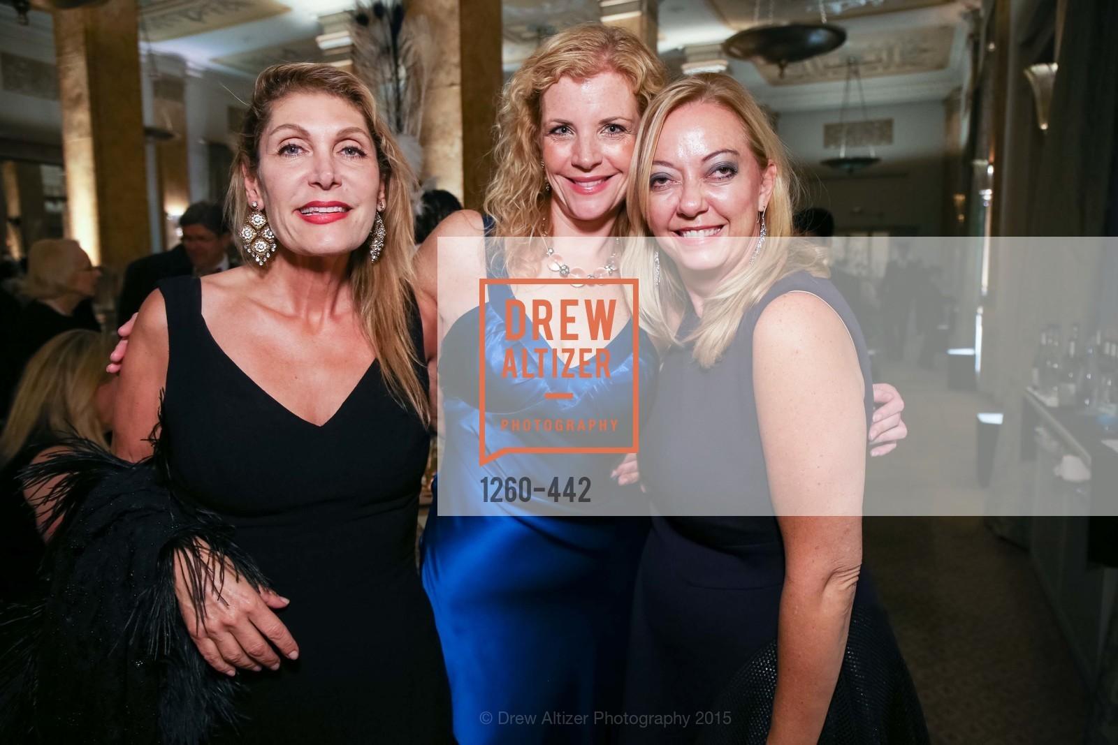 Elise Papazian, Nina Buthee, Aye McGee, Metropolitan Club Presents THE CENTENNIAL GALA, Metropolitan Club. 640 Sutter Street, November 5th, 2015