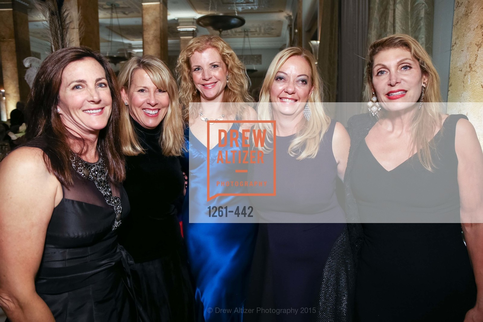 Lani Pringle, Caryl Parker, Nina Buthee, Aye McGee, Elise Papazian, Metropolitan Club Presents THE CENTENNIAL GALA, Metropolitan Club. 640 Sutter Street, November 5th, 2015,Drew Altizer, Drew Altizer Photography, full-service agency, private events, San Francisco photographer, photographer california
