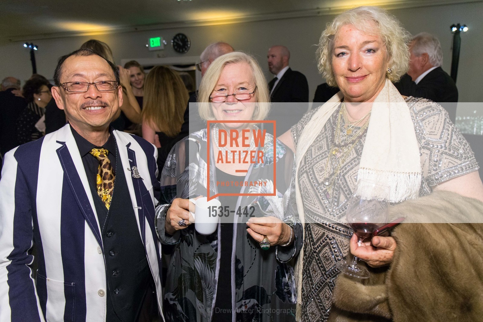 Edwin Mah, Linda Hannawalt, Marky Lynn Quayle, Metropolitan Club Presents THE CENTENNIAL GALA, Metropolitan Club. 640 Sutter Street, November 5th, 2015,Drew Altizer, Drew Altizer Photography, full-service agency, private events, San Francisco photographer, photographer california