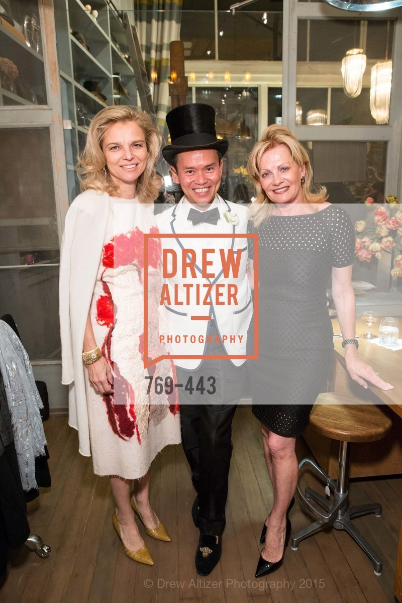 Leigh Matthes, Jonathan Rachman, Alison Carlson, J.RACHMAN GRAND OPENING AND BOOK SIGNING BY ALISON CARLSON