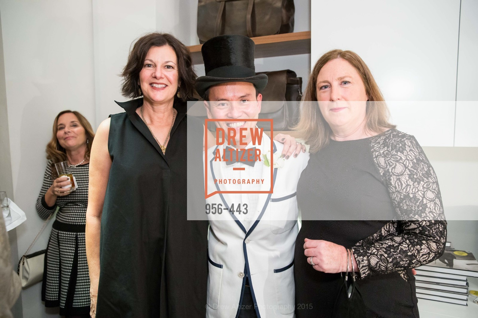 Noel Walters, Jonathan Rachman, Mary Nelson, J.RACHMAN GRAND OPENING AND BOOK SIGNING BY ALISON CARLSON