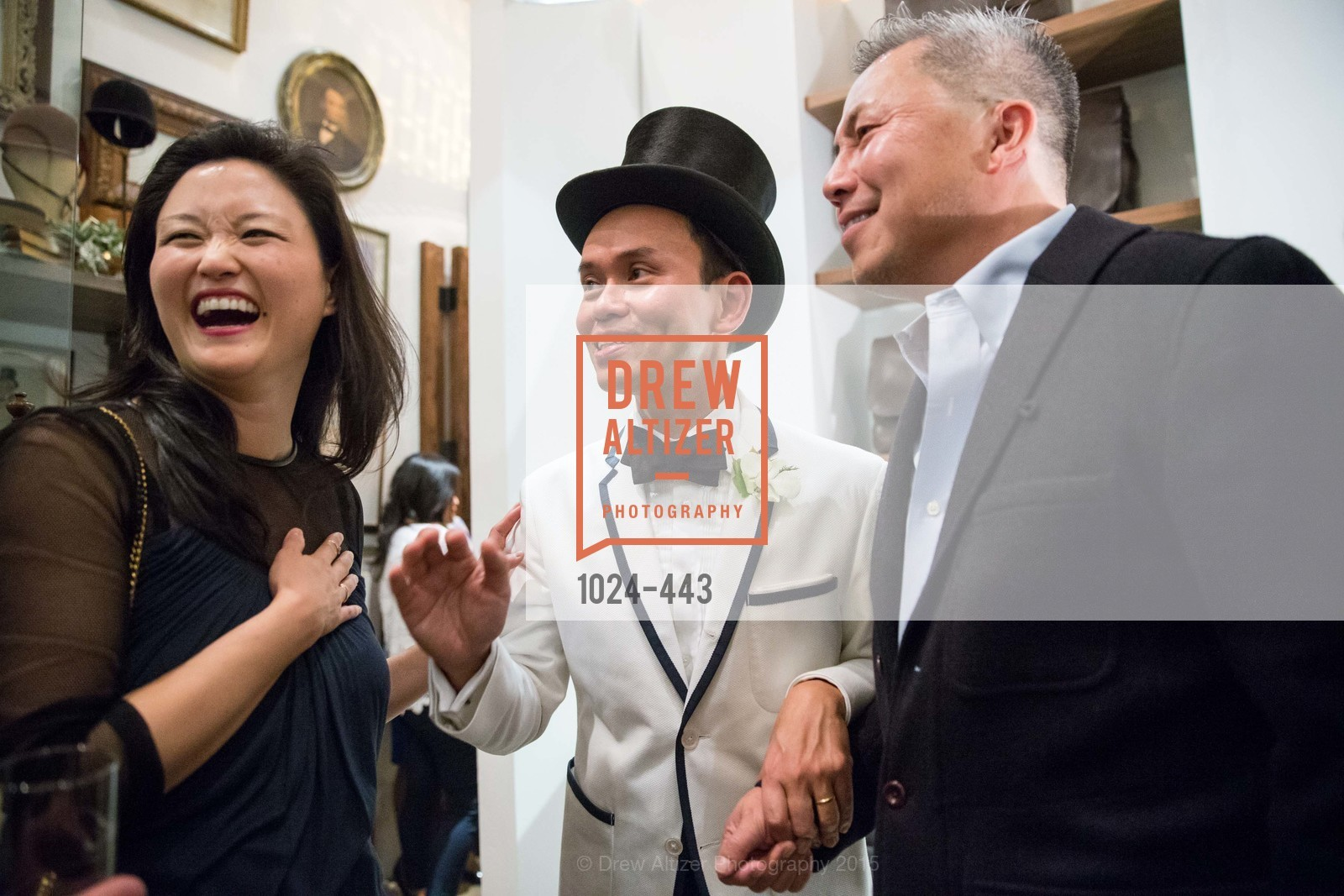 Catherine Kwong, Jonathan Rachman, Benjamin Dhong, J.RACHMAN GRAND OPENING AND BOOK SIGNING BY ALISON CARLSON