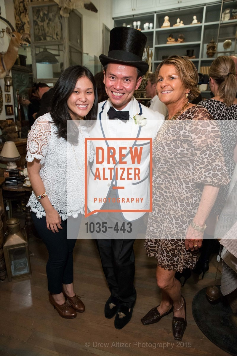 Yuni Wong, Jonathan Rachman, Christie Lorusso, J.RACHMAN GRAND OPENING AND BOOK SIGNING BY ALISON CARLSON