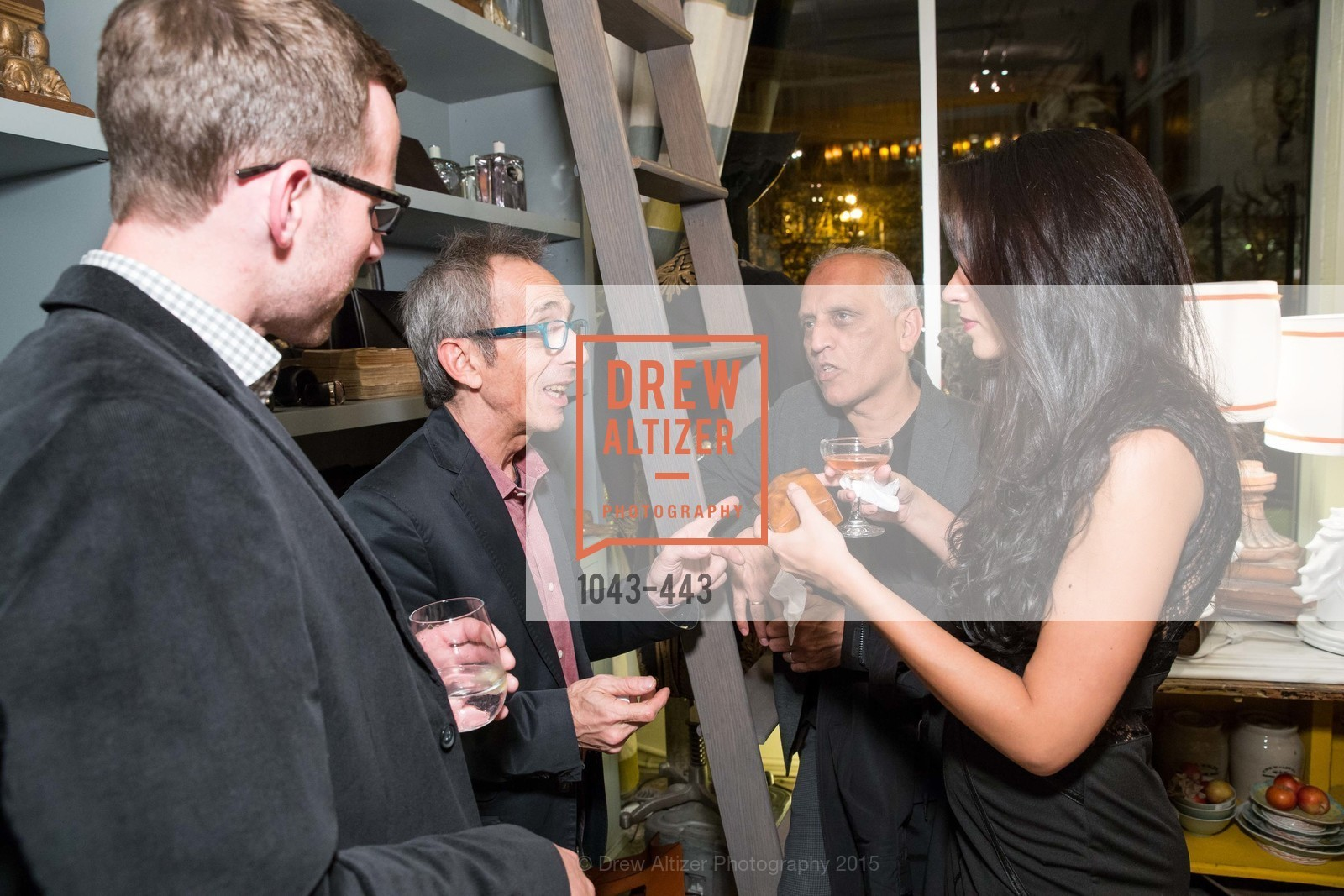 Mike Sander, Mossimo Tivoloteo, Prisma Theorres, Zahid Sardar, J.RACHMAN GRAND OPENING AND BOOK SIGNING BY ALISON CARLSON