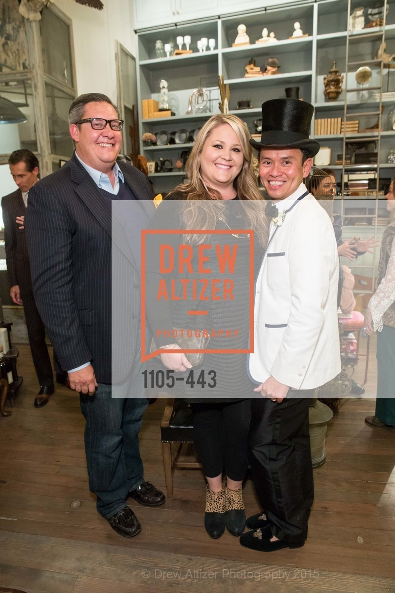 Bryan Tapper, Lauren Tapper, Jonathan Rachman, J.RACHMAN GRAND OPENING AND BOOK SIGNING BY ALISON CARLSON