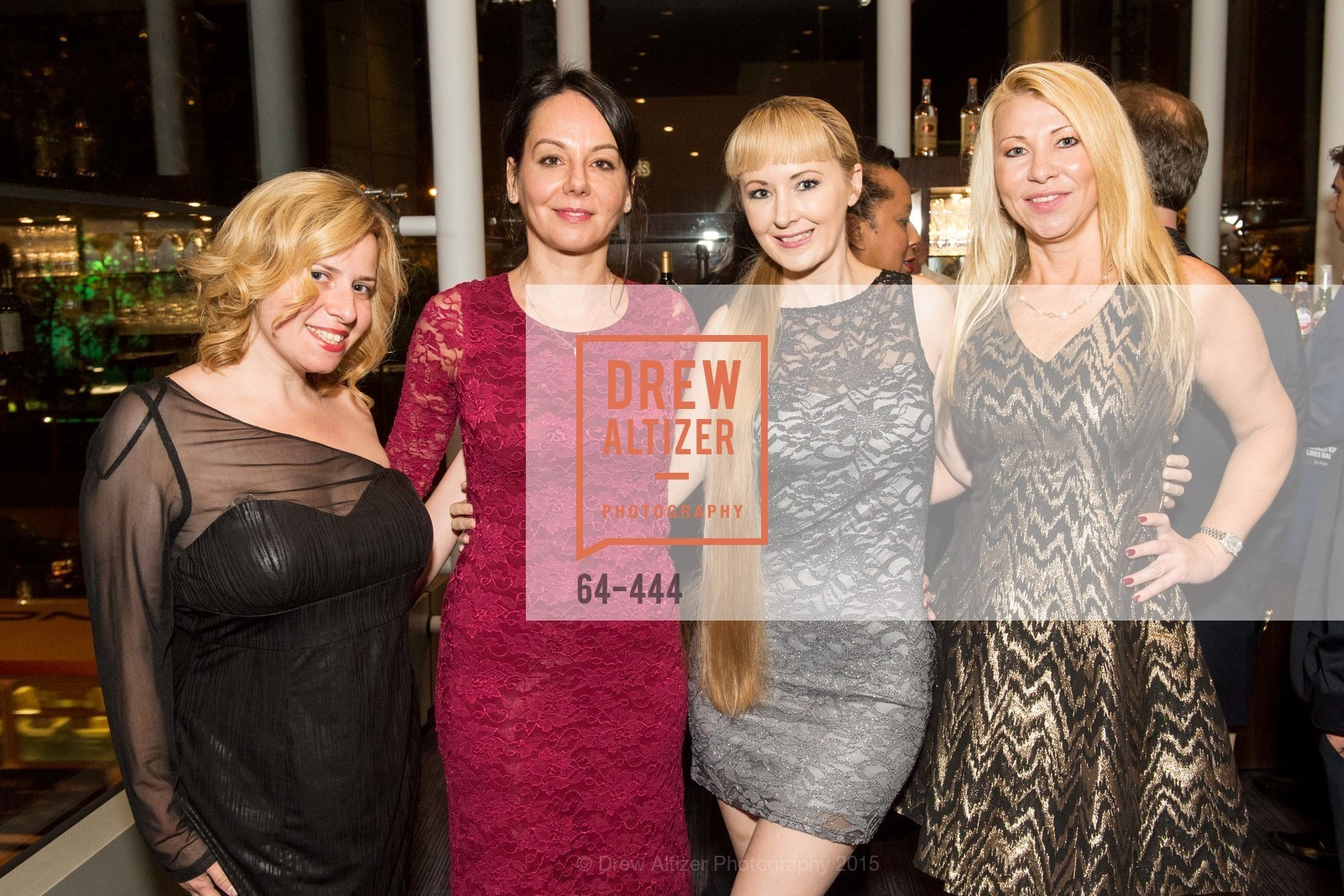 Maria Lovidova, Gergana Gallacher, Shannyn Bessoni, Lena Gikkas, Alonzo King LINES Ballet Opening Night Party, St. Regis Hotel. 125 3rd St, November 6th, 2015,Drew Altizer, Drew Altizer Photography, full-service agency, private events, San Francisco photographer, photographer california