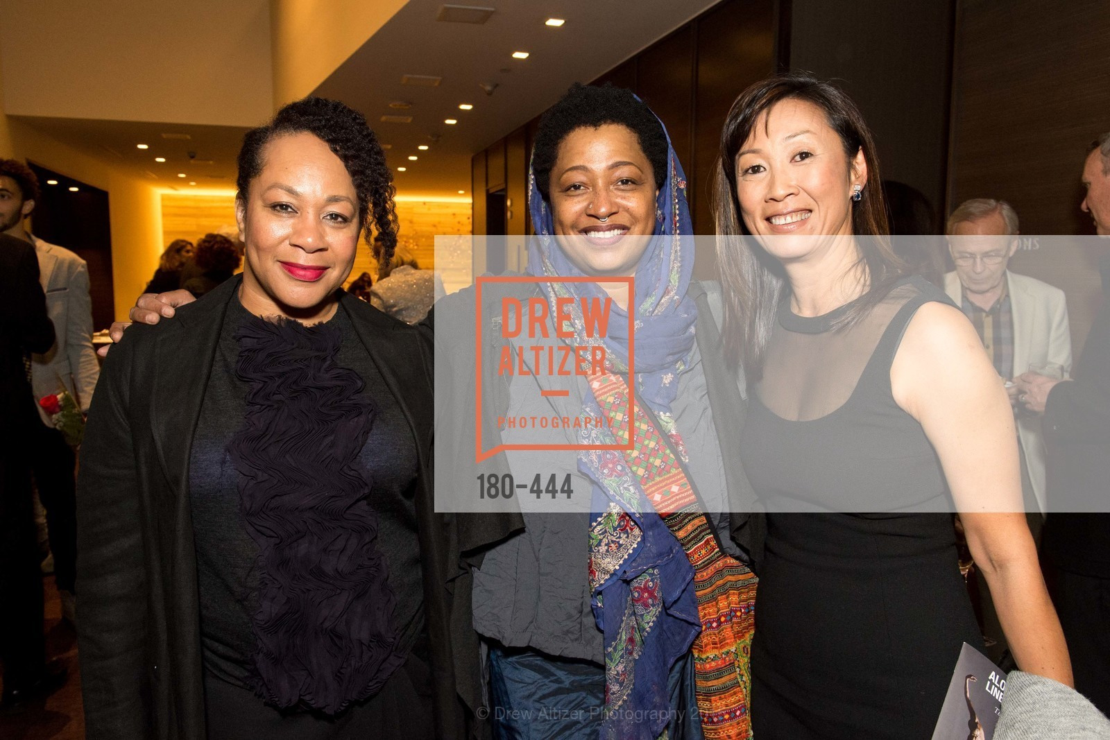 Diane Jones Lowrey, Lisa Fischer, Lucia Choi-Dalton, Alonzo King LINES Ballet Opening Night Party, St. Regis Hotel. 125 3rd St, November 6th, 2015,Drew Altizer, Drew Altizer Photography, full-service agency, private events, San Francisco photographer, photographer california