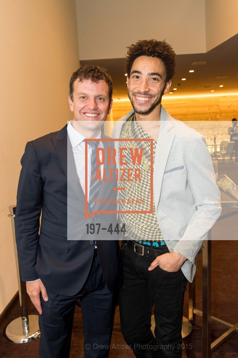 Karim Baer, MIchael Montgomery, Alonzo King LINES Ballet Opening Night Party, St. Regis Hotel. 125 3rd St, November 6th, 2015,Drew Altizer, Drew Altizer Photography, full-service agency, private events, San Francisco photographer, photographer california