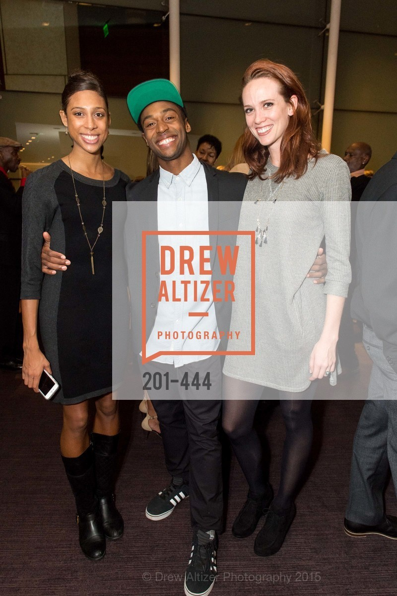 Adji Cissoko, Babatunji Johnson, Madeline DeVries, Alonzo King LINES Ballet Opening Night Party, St. Regis Hotel. 125 3rd St, November 6th, 2015,Drew Altizer, Drew Altizer Photography, full-service event agency, private events, San Francisco photographer, photographer California