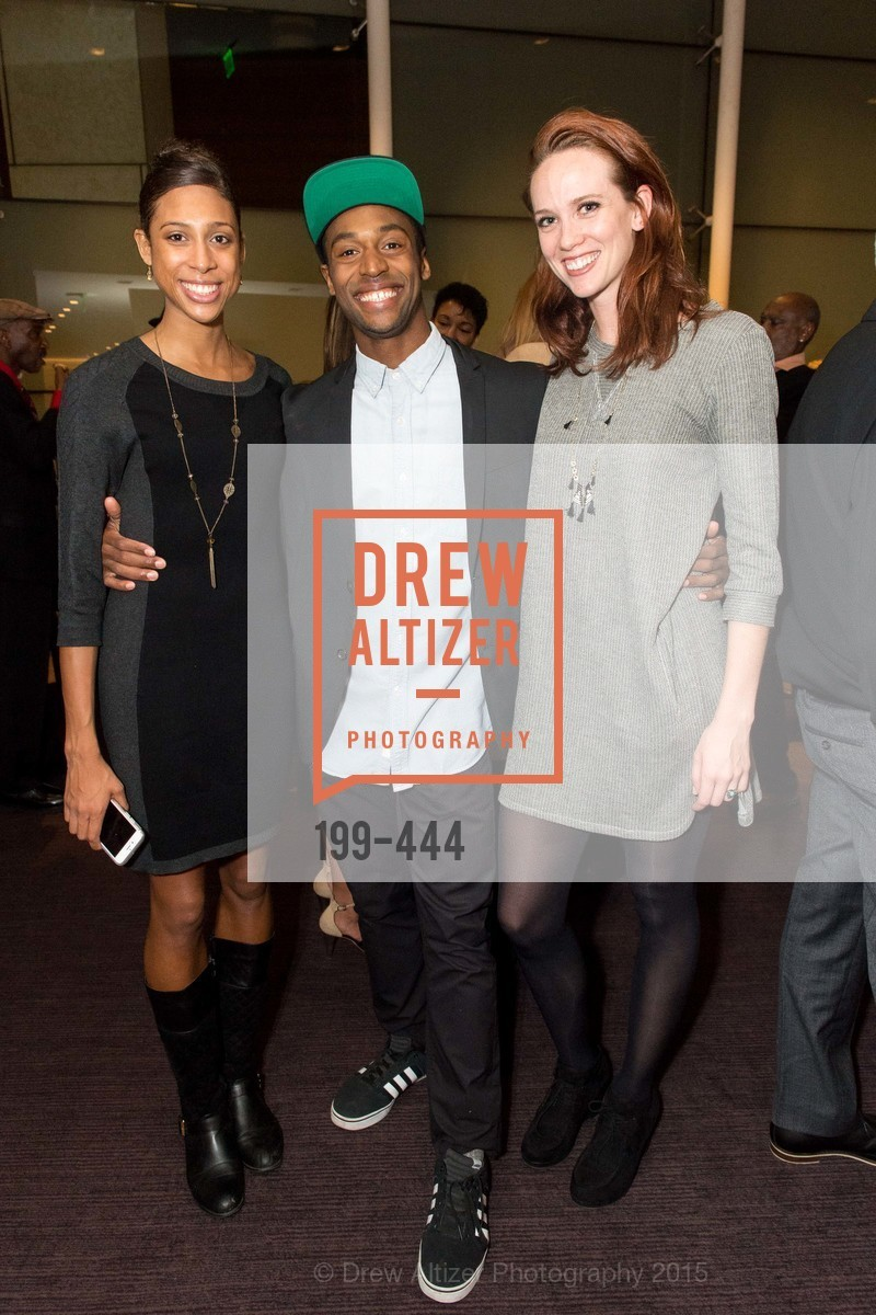 Adji Cissoko, Babatunji Johnson, Madeline DeVries, Alonzo King LINES Ballet Opening Night Party, St. Regis Hotel. 125 3rd St, November 6th, 2015,Drew Altizer, Drew Altizer Photography, full-service agency, private events, San Francisco photographer, photographer california