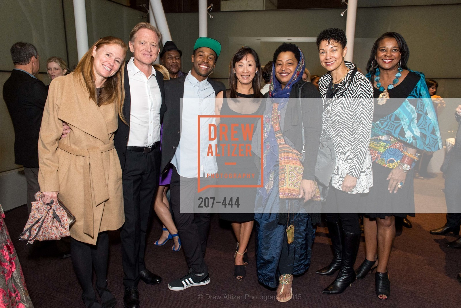 Kyle Redford, Jamie Redford, Babatunji Johnson, Lucia Choi-Dalton, Lisa Fischer, Vicki Hughes, Alonzo King LINES Ballet Opening Night Party, St. Regis Hotel. 125 3rd St, November 6th, 2015,Drew Altizer, Drew Altizer Photography, full-service agency, private events, San Francisco photographer, photographer california