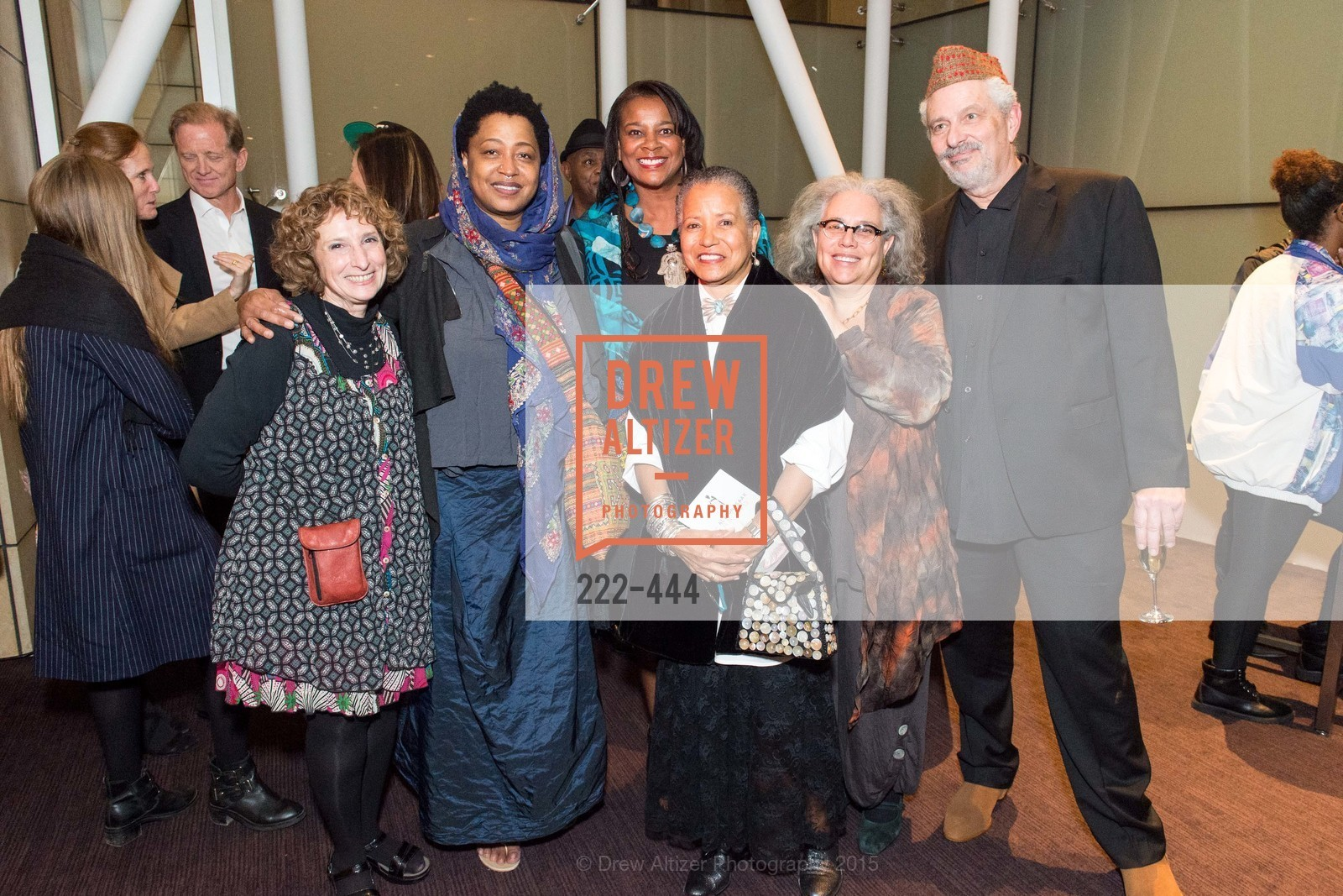 Susan Desmond, Lisa Fischer, Vicki Hughes, Cheryl Ward, Alison Saar, Robert Rosenwasser, Alonzo King LINES Ballet Opening Night Party, St. Regis Hotel. 125 3rd St, November 6th, 2015,Drew Altizer, Drew Altizer Photography, full-service agency, private events, San Francisco photographer, photographer california