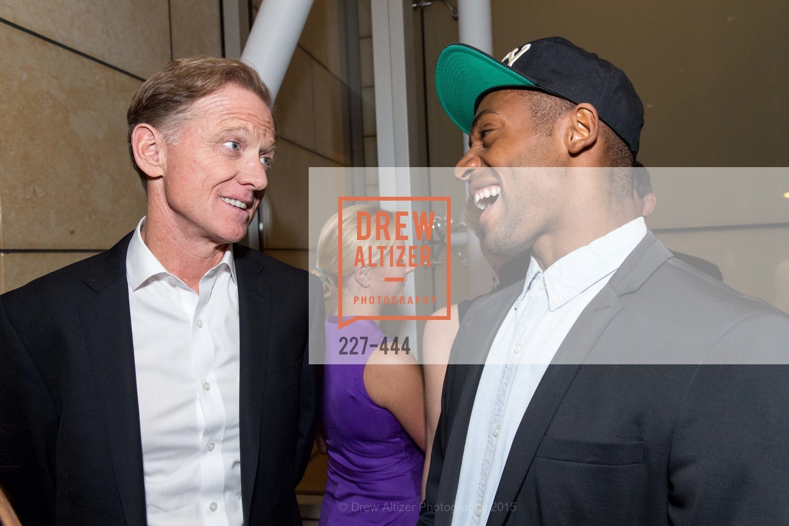 Jamie Redford, Babatunji Johnson, Alonzo King LINES Ballet Opening Night Party, St. Regis Hotel. 125 3rd St, November 6th, 2015,Drew Altizer, Drew Altizer Photography, full-service agency, private events, San Francisco photographer, photographer california