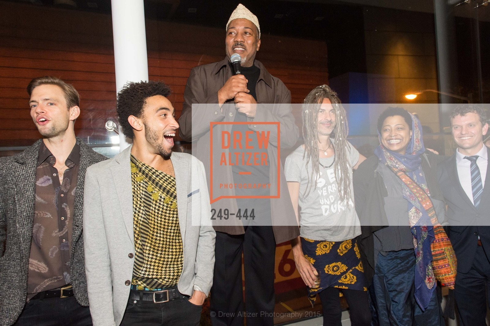 Brett Conway, MIchael Montgomery, Alonzo King, JC Maillard, Lisa Fischer, Karim Baer, Alonzo King LINES Ballet Opening Night Party, St. Regis Hotel. 125 3rd St, November 6th, 2015,Drew Altizer, Drew Altizer Photography, full-service agency, private events, San Francisco photographer, photographer california