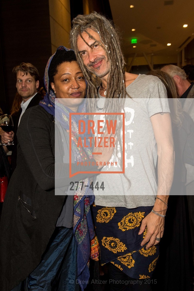 Lisa Fischer, JC Maillard, Alonzo King LINES Ballet Opening Night Party, St. Regis Hotel. 125 3rd St, November 6th, 2015,Drew Altizer, Drew Altizer Photography, full-service agency, private events, San Francisco photographer, photographer california