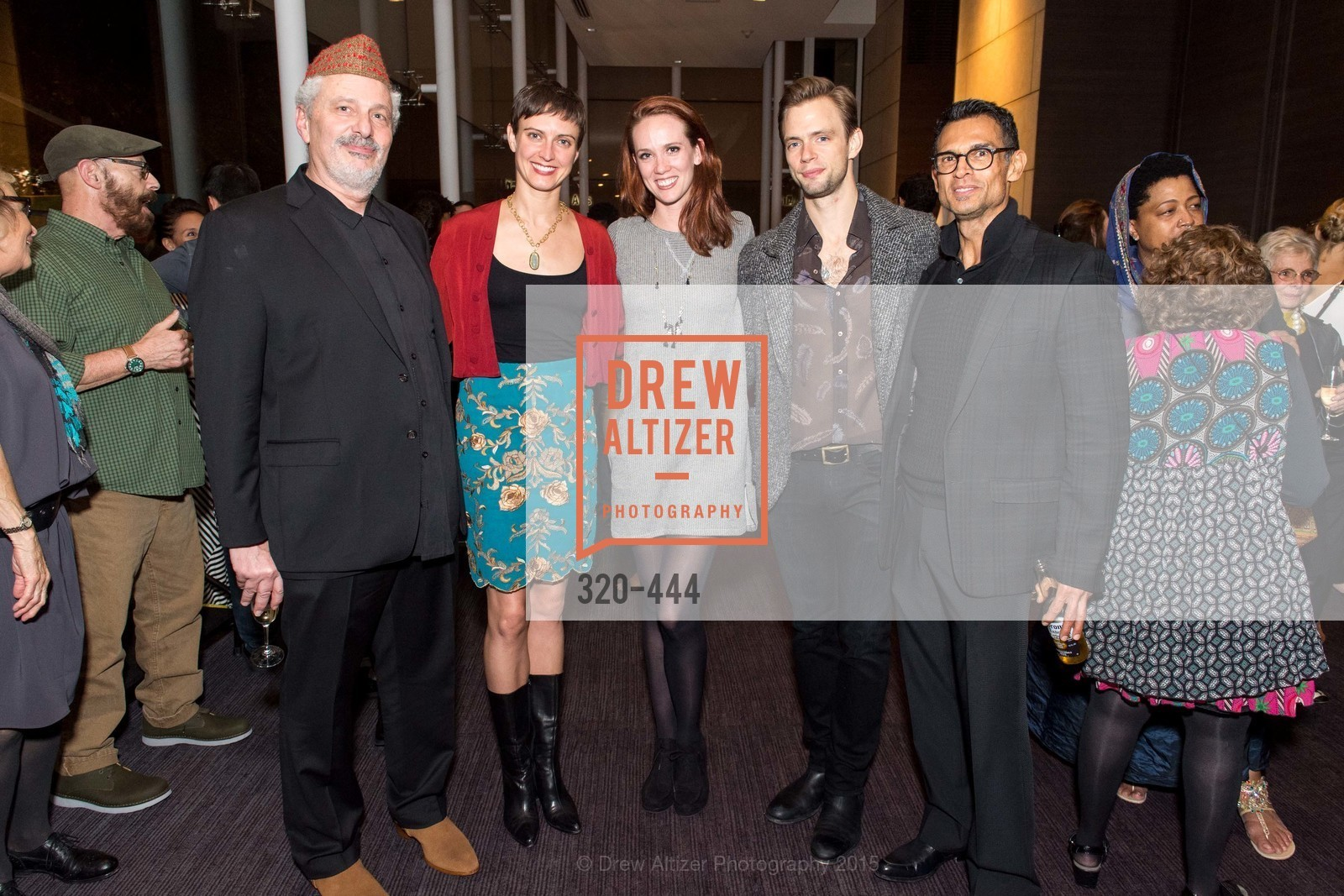 Robert Rosenwasser, Meredith Webster, Madeline DeVries, Brett Conway, Jesse Garcia, Alonzo King LINES Ballet Opening Night Party, St. Regis Hotel. 125 3rd St, November 6th, 2015,Drew Altizer, Drew Altizer Photography, full-service event agency, private events, San Francisco photographer, photographer California