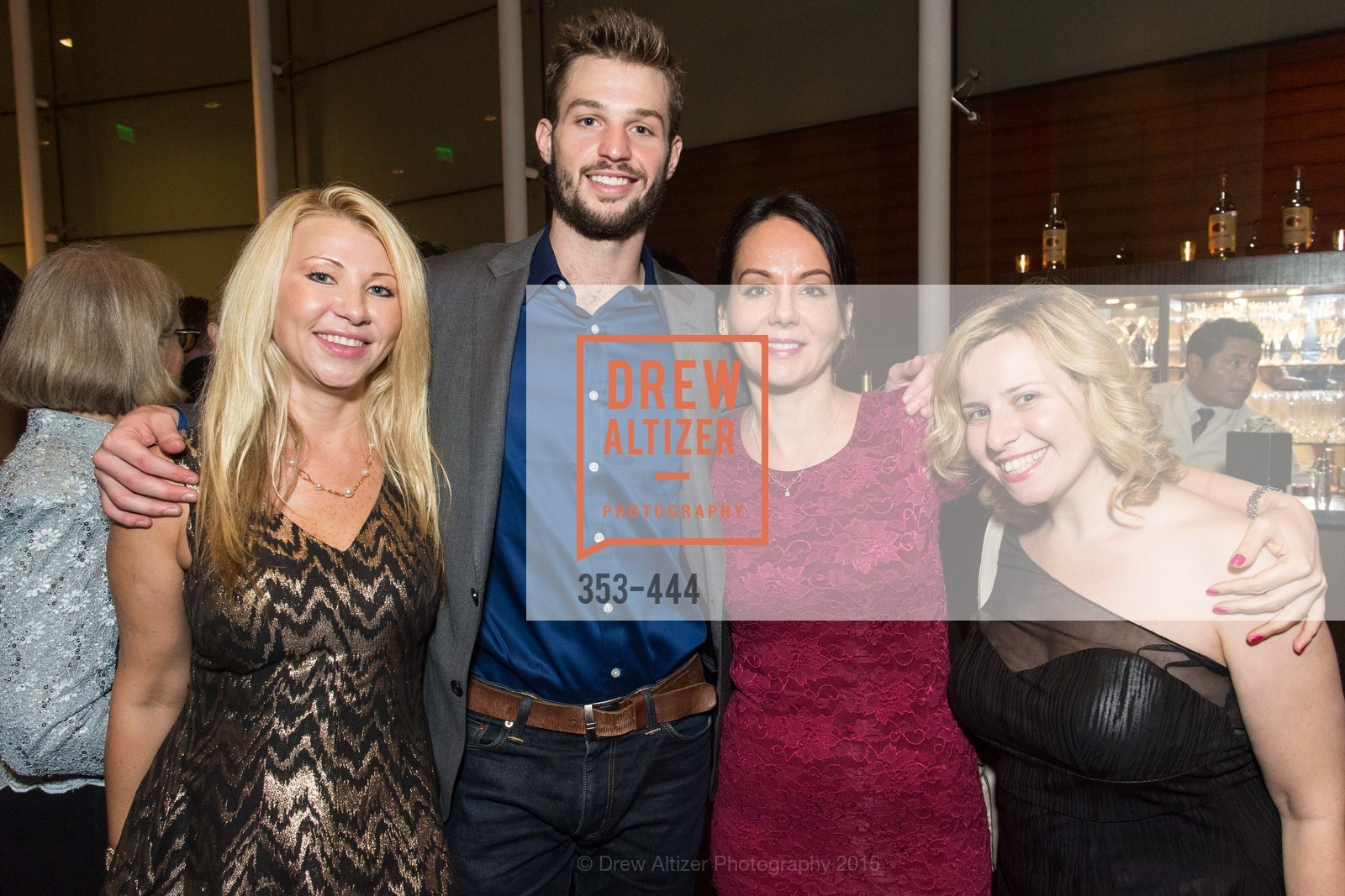 Lena Gikkas, Rob Beresford, Gergana Gallacher, Maria Lovidova, Alonzo King LINES Ballet Opening Night Party, St. Regis Hotel. 125 3rd St, November 6th, 2015,Drew Altizer, Drew Altizer Photography, full-service agency, private events, San Francisco photographer, photographer california