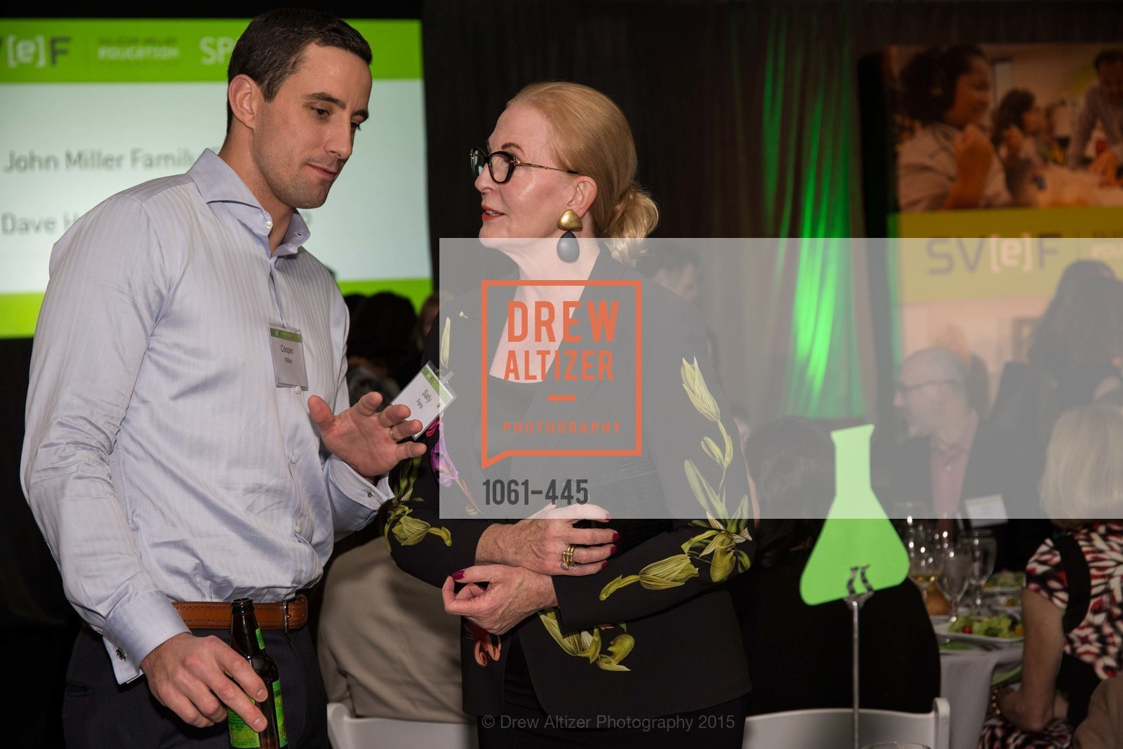Cooper Miller, Sally Pera, Silicon Valley Education Foundation's PIONEERS & PURPOSE, Computer History Museum. 1401 N. Shoreline Blvd, November 4th, 2015,Drew Altizer, Drew Altizer Photography, full-service agency, private events, San Francisco photographer, photographer california