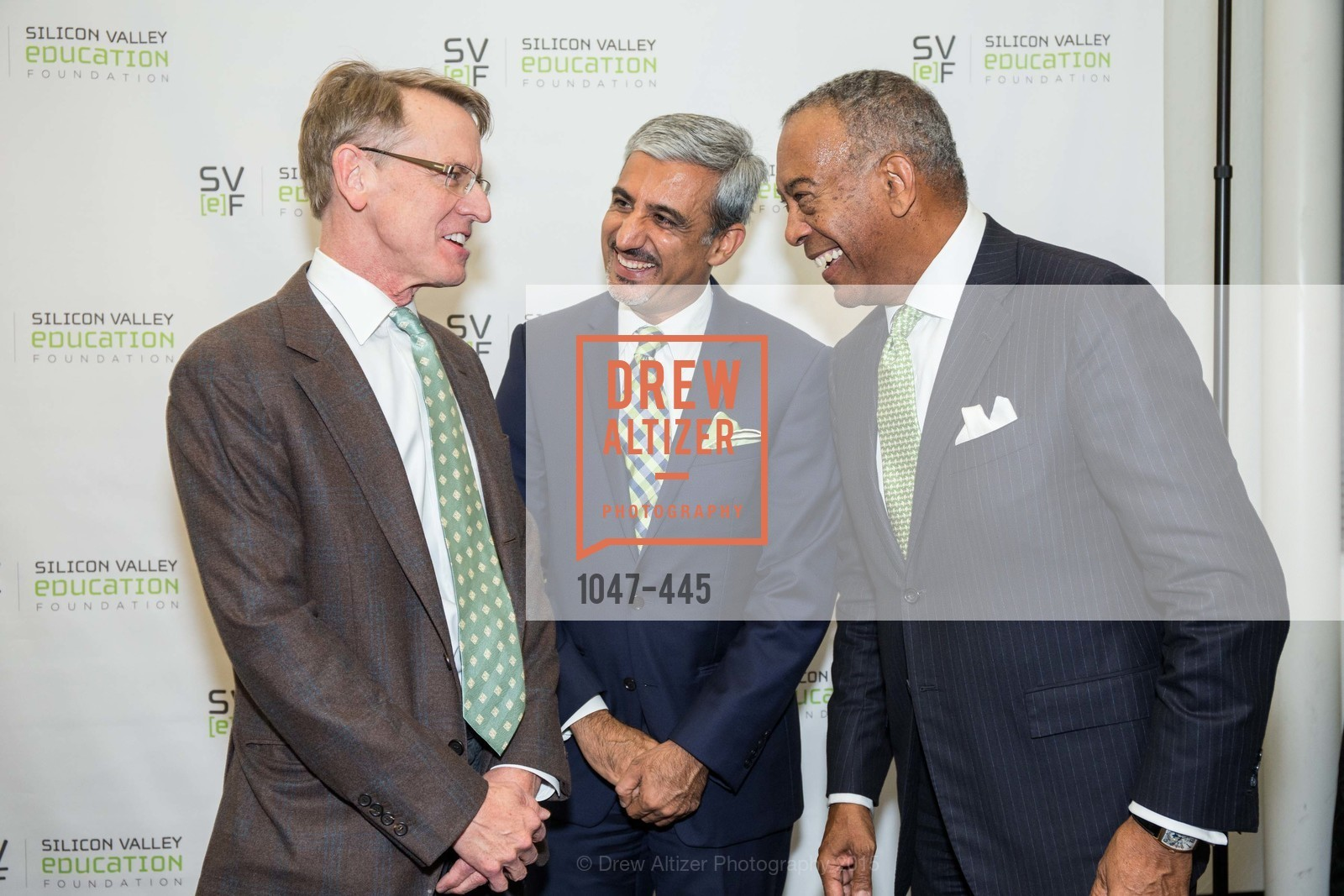 John Doerr, Muhammed Chaudhry, John W. Thompson, Silicon Valley Education Foundation's PIONEERS & PURPOSE, Computer History Museum. 1401 N. Shoreline Blvd, November 4th, 2015
