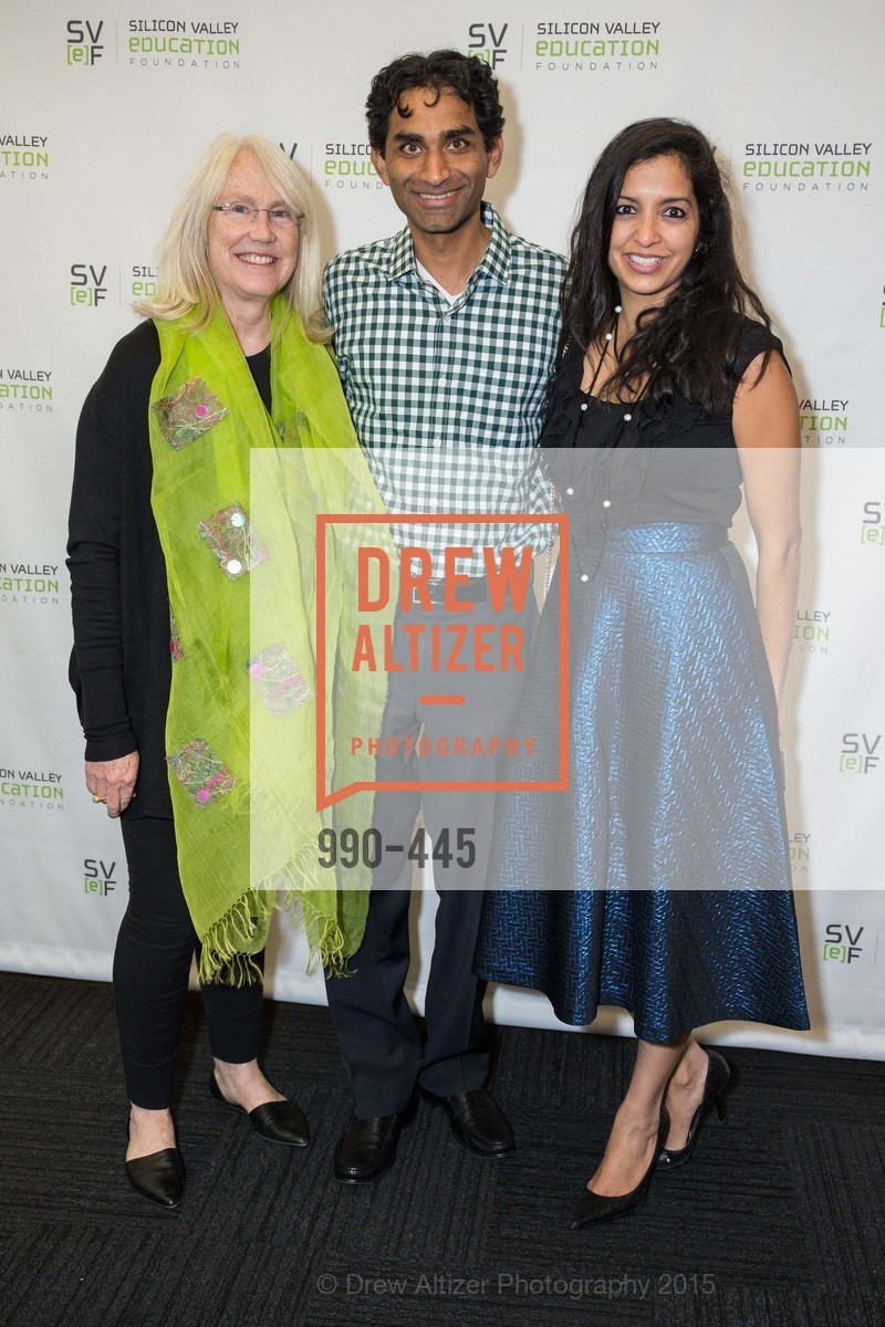 Ann Doerr, Shantanu Sinha, Seema Sinha, Silicon Valley Education Foundation's PIONEERS & PURPOSE, Computer History Museum. 1401 N. Shoreline Blvd, November 4th, 2015,Drew Altizer, Drew Altizer Photography, full-service agency, private events, San Francisco photographer, photographer california