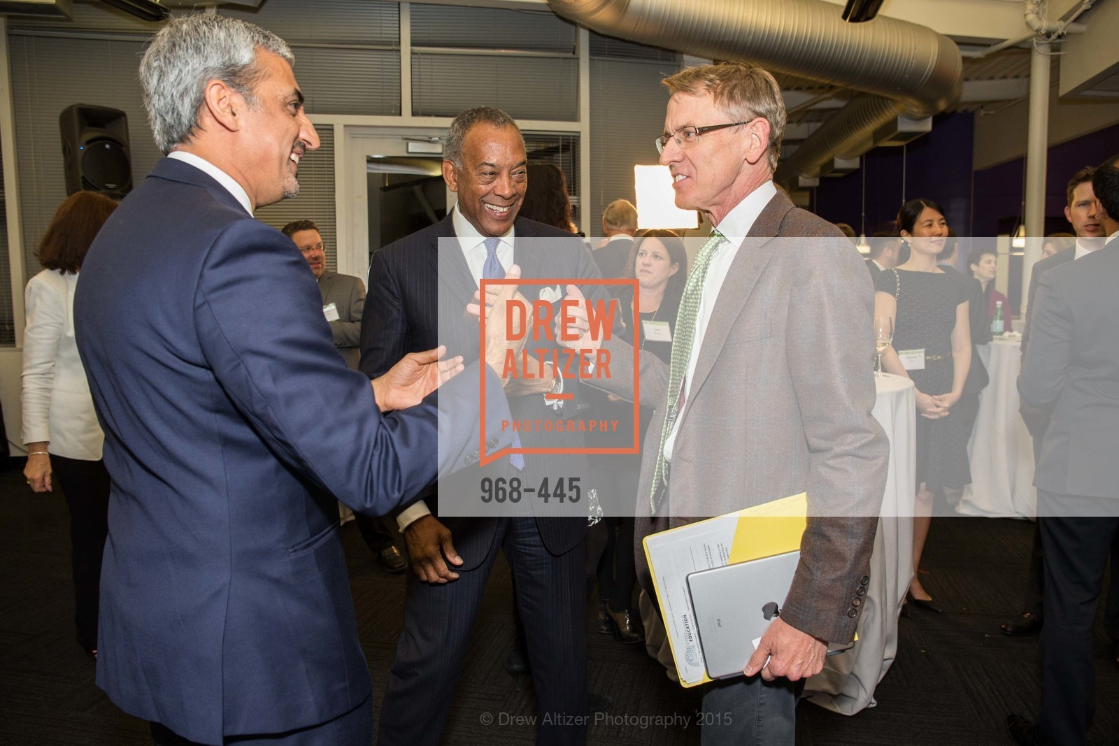 Muhammed Chaudhry, John W. Thompson, John Doerr, Silicon Valley Education Foundation's PIONEERS & PURPOSE, Computer History Museum. 1401 N. Shoreline Blvd, November 4th, 2015,Drew Altizer, Drew Altizer Photography, full-service agency, private events, San Francisco photographer, photographer california