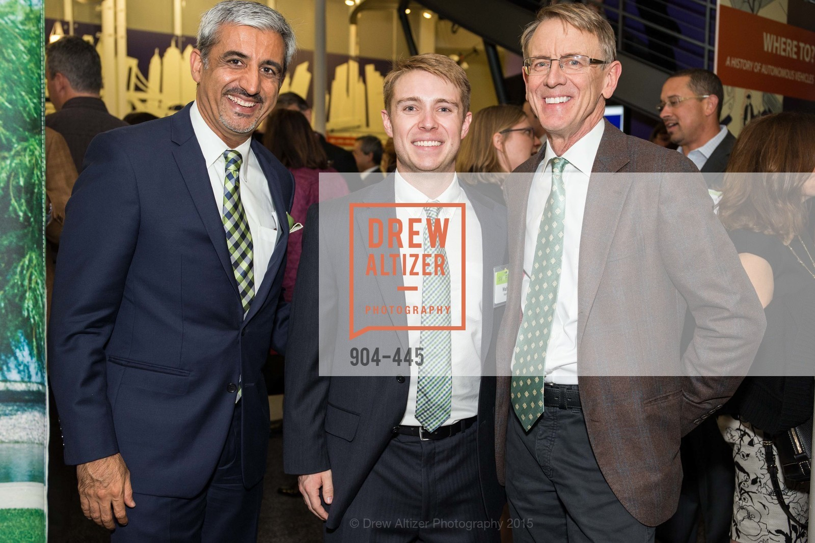 Muhammed Chaudhry, Walter Herring, John Doerr, Silicon Valley Education Foundation's PIONEERS & PURPOSE, Computer History Museum. 1401 N. Shoreline Blvd, November 4th, 2015,Drew Altizer, Drew Altizer Photography, full-service agency, private events, San Francisco photographer, photographer california