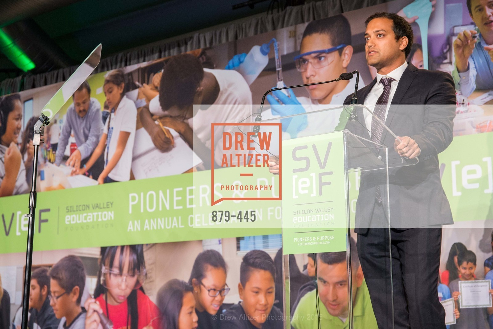 Subodh Gupta, Silicon Valley Education Foundation's PIONEERS & PURPOSE, Computer History Museum. 1401 N. Shoreline Blvd, November 4th, 2015,Drew Altizer, Drew Altizer Photography, full-service agency, private events, San Francisco photographer, photographer california