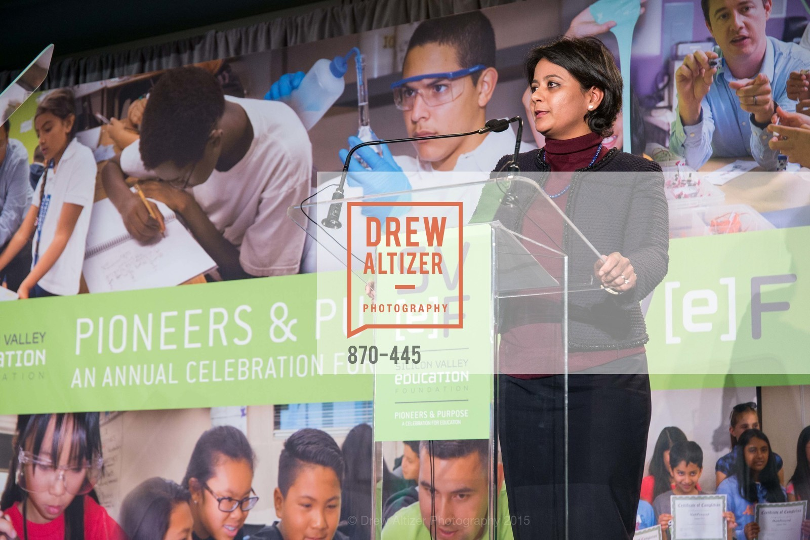 Anvita Sahai, Silicon Valley Education Foundation's PIONEERS & PURPOSE, Computer History Museum. 1401 N. Shoreline Blvd, November 4th, 2015,Drew Altizer, Drew Altizer Photography, full-service agency, private events, San Francisco photographer, photographer california