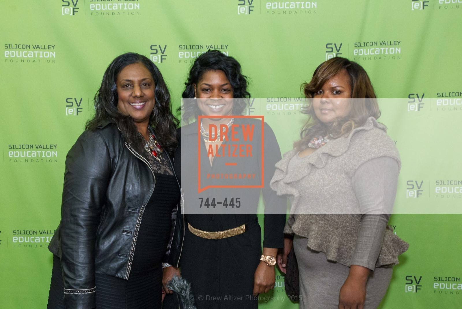Alexis Williams Patton, Tasha Johnson, Monique Allen, Silicon Valley Education Foundation's PIONEERS & PURPOSE, Computer History Museum. 1401 N. Shoreline Blvd, November 4th, 2015,Drew Altizer, Drew Altizer Photography, full-service agency, private events, San Francisco photographer, photographer california