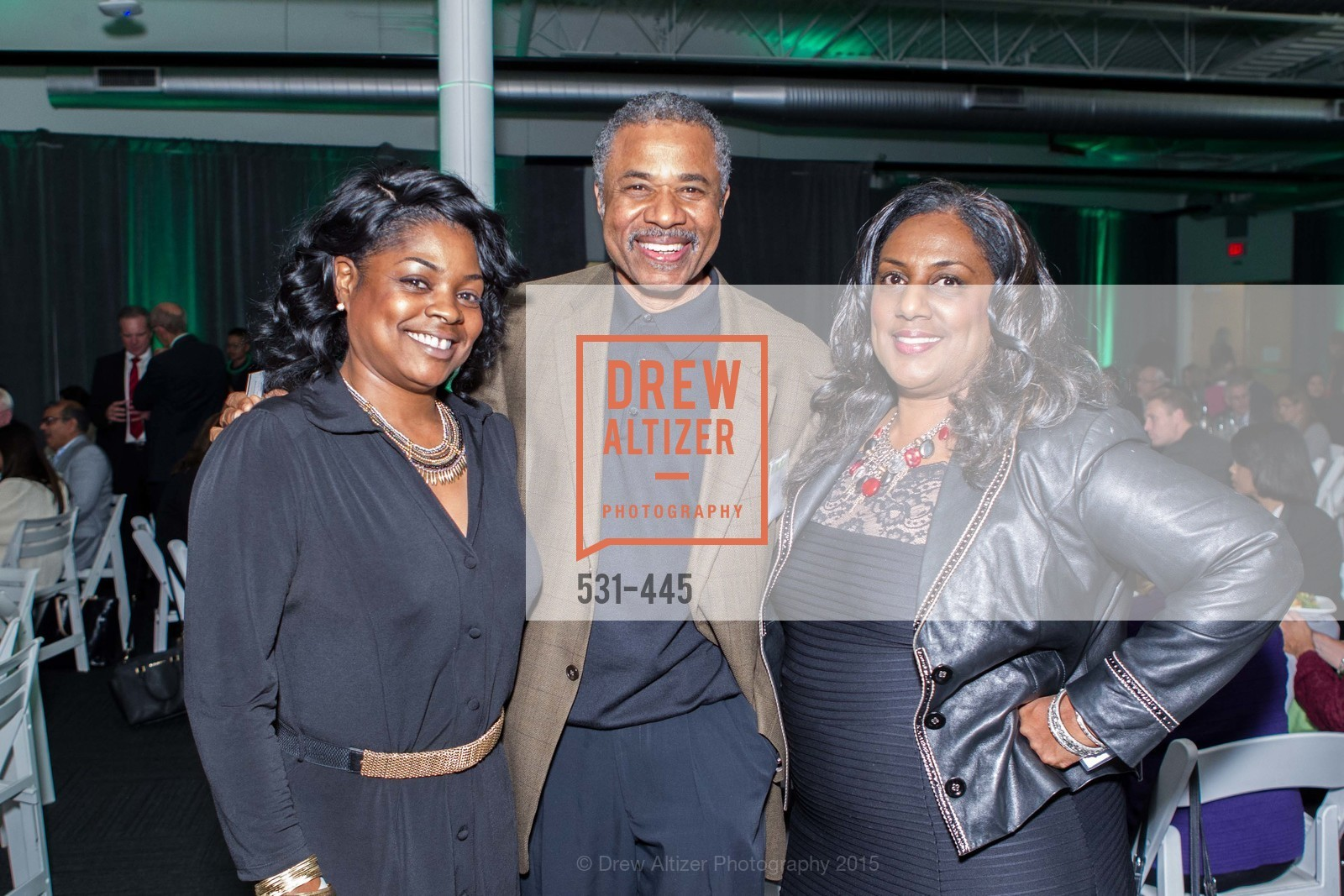 Tasha Johnson, Carl Davis Jr., Alexis Williams Patton, Silicon Valley Education Foundation's PIONEERS & PURPOSE, Computer History Museum. 1401 N. Shoreline Blvd, November 4th, 2015,Drew Altizer, Drew Altizer Photography, full-service agency, private events, San Francisco photographer, photographer california