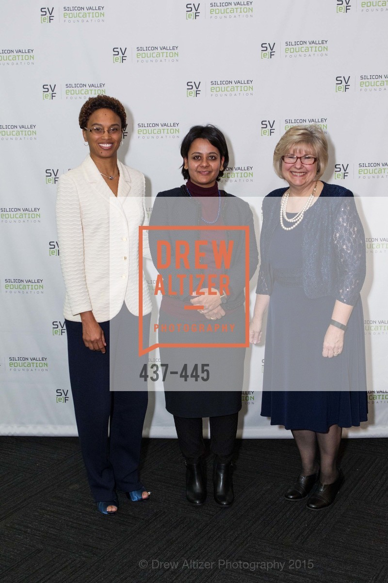 Sharice Williams, Anvita Sahai, Jean Trusedell, Silicon Valley Education Foundation's PIONEERS & PURPOSE, Computer History Museum. 1401 N. Shoreline Blvd, November 4th, 2015,Drew Altizer, Drew Altizer Photography, full-service event agency, private events, San Francisco photographer, photographer California