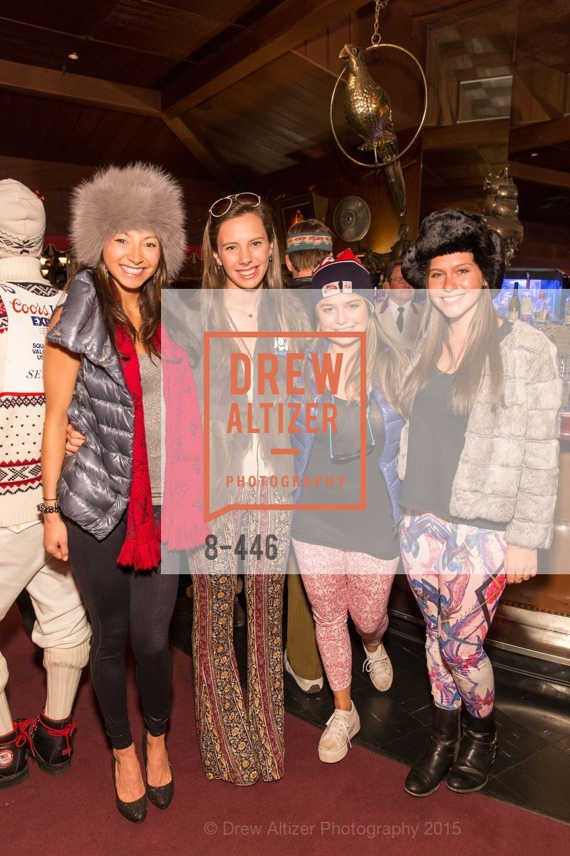 Megan Yang, Jackie Marshall, Sterling Sipp, Dina Debenedetti, U.S. Ski and Snowboard Foundation's Snow Ball, Bimbo's 365 Club. 1025 Columbus Ave, November 7th, 2015,Drew Altizer, Drew Altizer Photography, full-service agency, private events, San Francisco photographer, photographer california