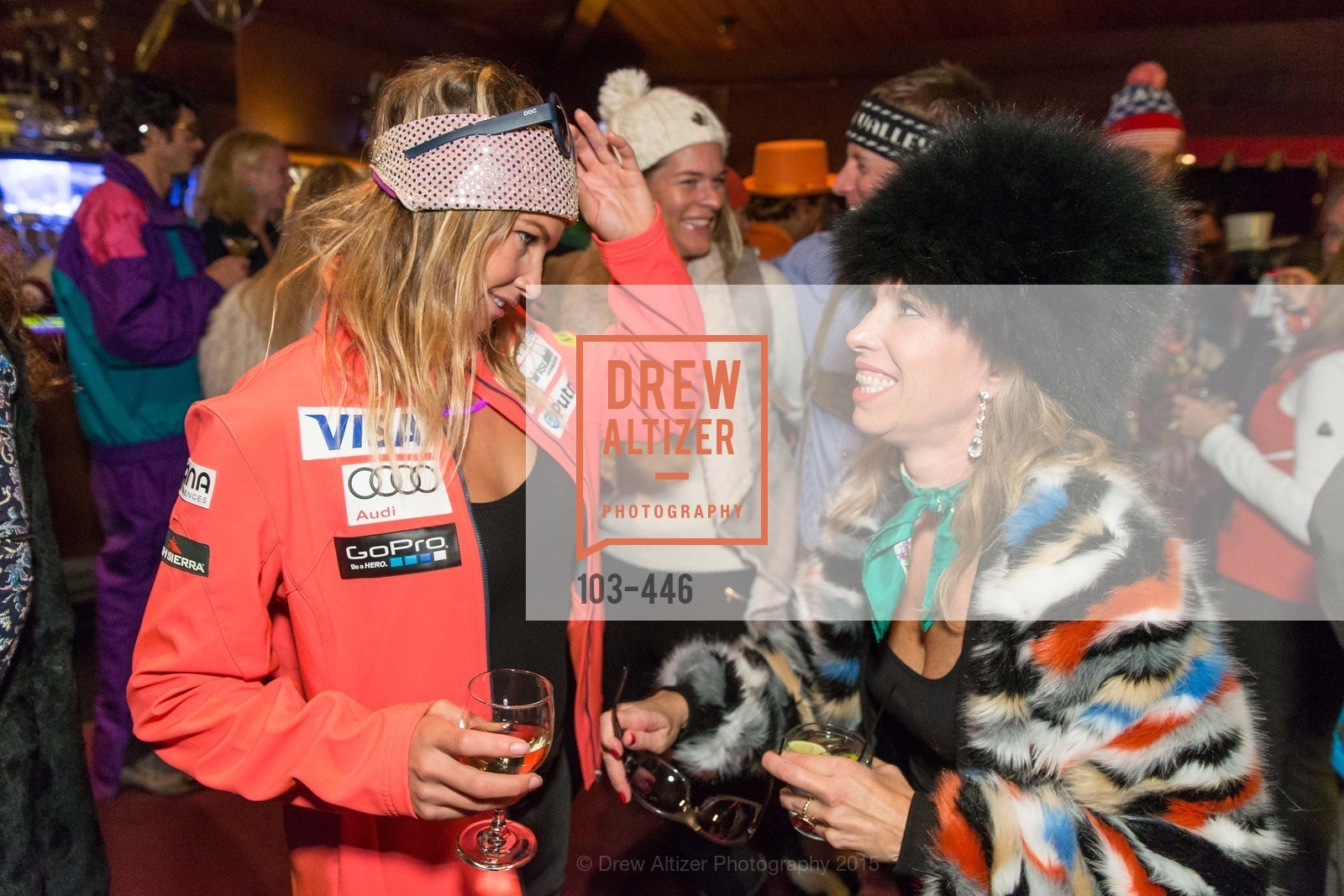 Julia Mancuso, Christine Aylward, U.S. Ski and Snowboard Foundation's Snow Ball, Bimbo's 365 Club. 1025 Columbus Ave, November 7th, 2015,Drew Altizer, Drew Altizer Photography, full-service agency, private events, San Francisco photographer, photographer california