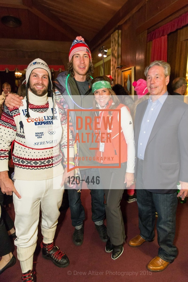 Travis Ganong, Bryce Bennett, Liz Larned, Thom Weisel, U.S. Ski and Snowboard Foundation's Snow Ball, Bimbo's 365 Club. 1025 Columbus Ave, November 7th, 2015,Drew Altizer, Drew Altizer Photography, full-service agency, private events, San Francisco photographer, photographer california