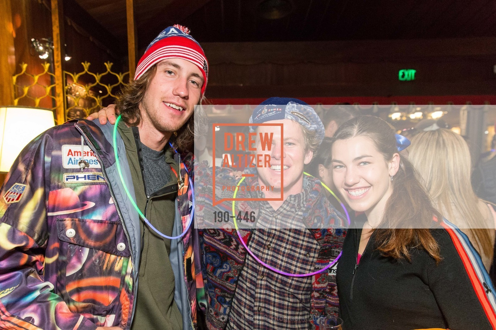 Bryce Bennett, Erik Arvidsson, Lila Lapanja, U.S. Ski and Snowboard Foundation's Snow Ball, Bimbo's 365 Club. 1025 Columbus Ave, November 7th, 2015,Drew Altizer, Drew Altizer Photography, full-service agency, private events, San Francisco photographer, photographer california