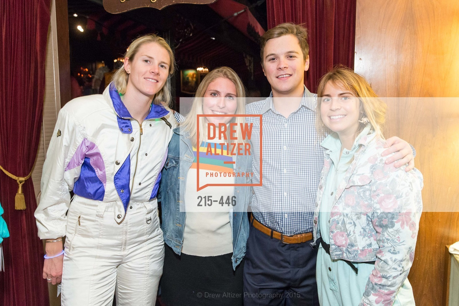 Lindsay Cone, Francesca Robertson, George Rolfs, Mackenzie Brown, U.S. Ski and Snowboard Foundation's Snow Ball, Bimbo's 365 Club. 1025 Columbus Ave, November 7th, 2015,Drew Altizer, Drew Altizer Photography, full-service event agency, private events, San Francisco photographer, photographer California