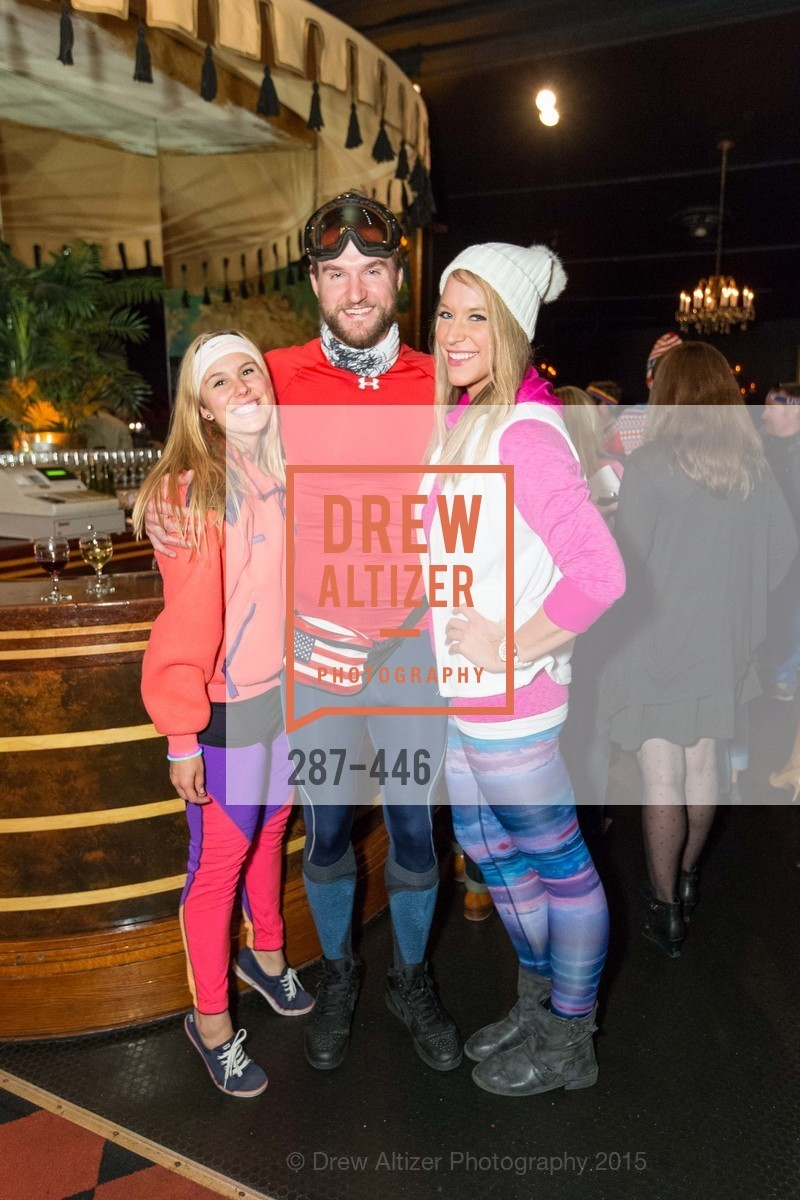 Kiera DeGross, Lewis Gresham, Lauren Sandelin, U.S. Ski and Snowboard Foundation's Snow Ball, Bimbo's 365 Club. 1025 Columbus Ave, November 7th, 2015,Drew Altizer, Drew Altizer Photography, full-service agency, private events, San Francisco photographer, photographer california