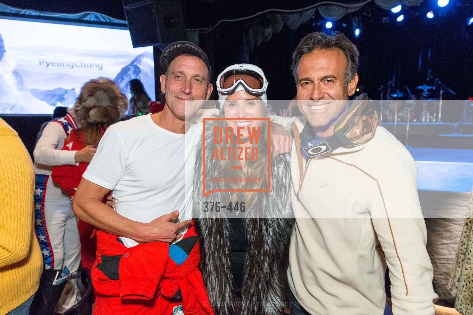 Jeff Block, Danielle Boutros, George Boutros, U.S. Ski and Snowboard Foundation's Snow Ball, Bimbo's 365 Club. 1025 Columbus Ave, November 7th, 2015,Drew Altizer, Drew Altizer Photography, full-service agency, private events, San Francisco photographer, photographer california