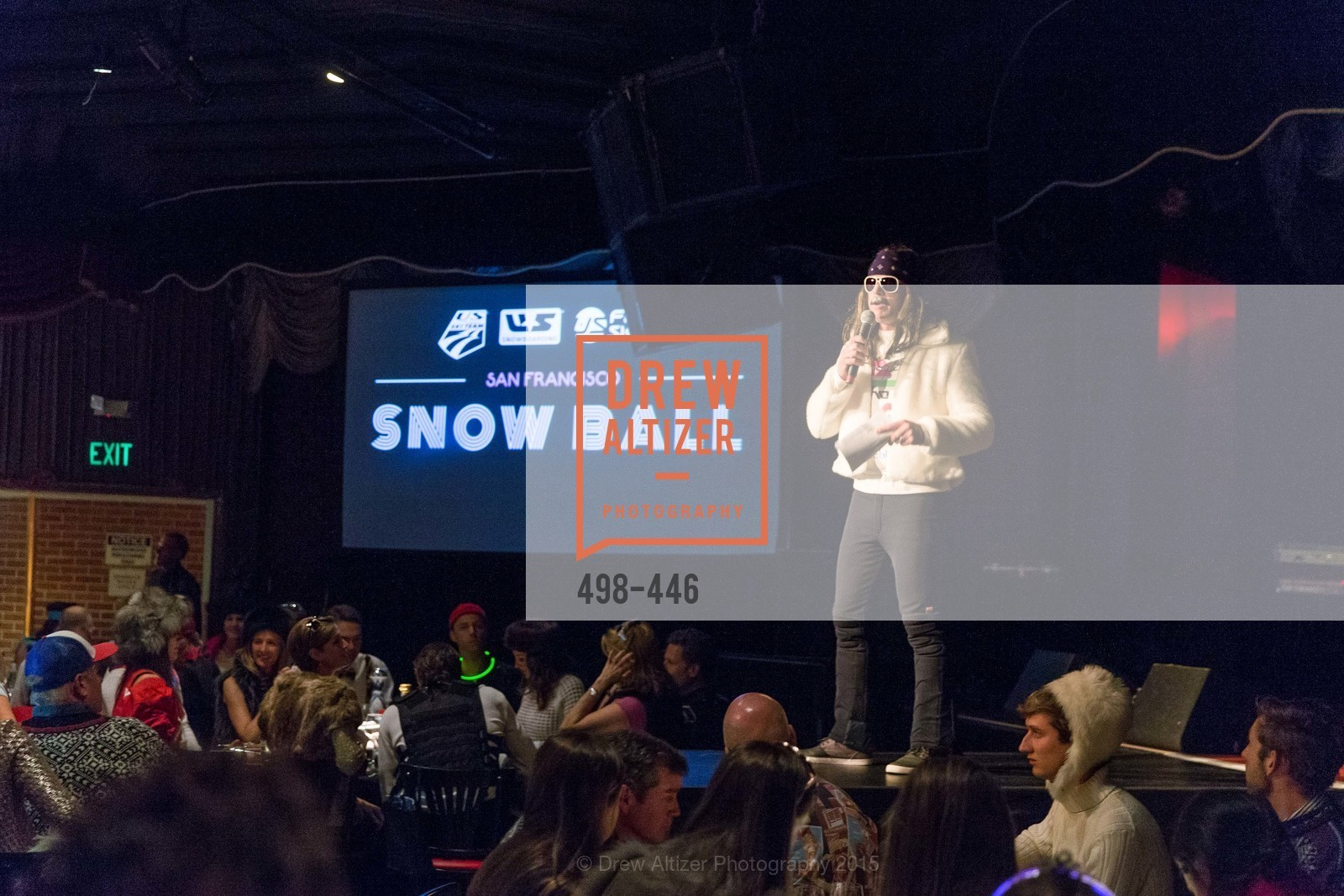 Trace Worthington, U.S. Ski and Snowboard Foundation's Snow Ball, Bimbo's 365 Club. 1025 Columbus Ave, November 7th, 2015,Drew Altizer, Drew Altizer Photography, full-service agency, private events, San Francisco photographer, photographer california