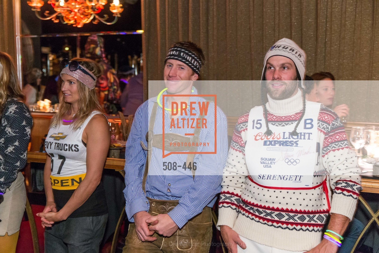 Julia Mancuso, Marco Sullivan, Travis Ganong, U.S. Ski and Snowboard Foundation's Snow Ball, Bimbo's 365 Club. 1025 Columbus Ave, November 7th, 2015,Drew Altizer, Drew Altizer Photography, full-service agency, private events, San Francisco photographer, photographer california
