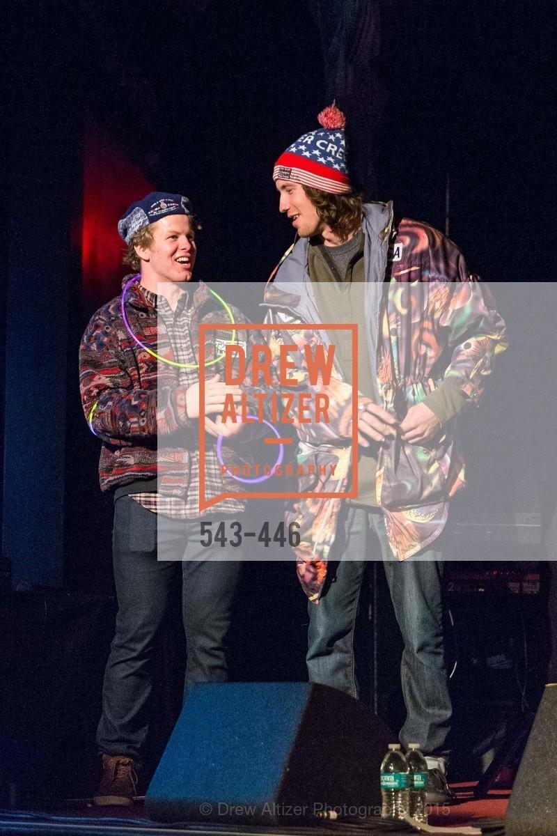 Erik Arvidsson, Bryce Bennett, U.S. Ski and Snowboard Foundation's Snow Ball, Bimbo's 365 Club. 1025 Columbus Ave, November 7th, 2015,Drew Altizer, Drew Altizer Photography, full-service agency, private events, San Francisco photographer, photographer california