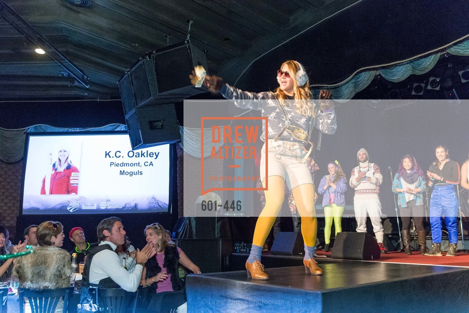 K.C. Oakley, U.S. Ski and Snowboard Foundation's Snow Ball, Bimbo's 365 Club. 1025 Columbus Ave, November 7th, 2015,Drew Altizer, Drew Altizer Photography, full-service event agency, private events, San Francisco photographer, photographer California
